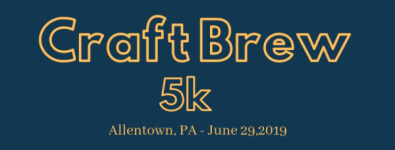 Craft Brew 5K NOT REAL RACE registration logo