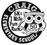 Craig Elementary 5K/1 Mile Fun Run registration logo