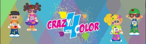 Crazy-4-Color 5K Run registration logo
