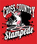 Cross Country Stampede  registration logo