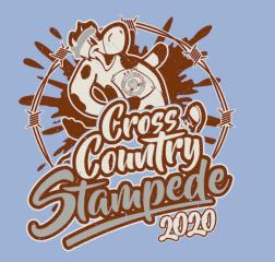 Cross Country Stampede  registration logo