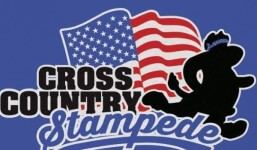 Cross Country Stampede 2018 registration logo