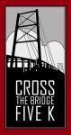 Cross the Bridge 5k registration logo