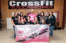 CrossFit Tullahoma goes Barbells for Boobs registration logo