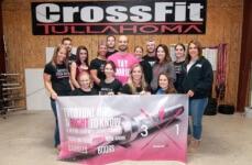 CrossFit Tullahoma goes Barbells for Boobs registration logo