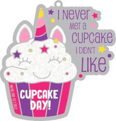 Cupcake Day 1M 5K 10K 13.1 and 26.2 registration logo