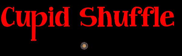 Cupid Shuffle 10K, 5K, & 1 Mile Kids Run registration logo