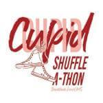 Cupid Shuffle-A-Thon .5K registration logo
