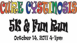 Cure Cystinosis 5K/ Trick or Treat Fun Run registration logo