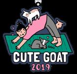 Cute Goat 1 Mile, 5K, 10K, 13.1, 26.2 registration logo