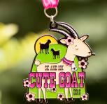 Cute Goat 5K & 10K registration logo