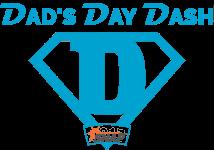 Dad's Day Dash registration logo