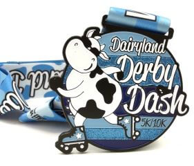 Dairyland Derby Dash 5K and 10K - Run Walk or Skate registration logo