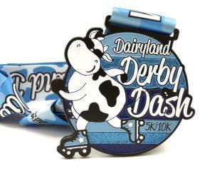 Dairyland Derby Dash 5K and 10K - Run Walk or Skate registration logo