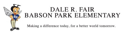 Dale R Fair Babson Park Elementary Made in the Shade 5K registration logo