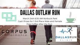 Dallas Outlaw Run registration logo