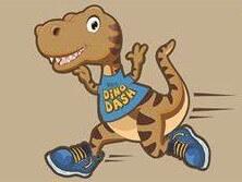 Dallas-Saurus 5K Run & Walk registration logo