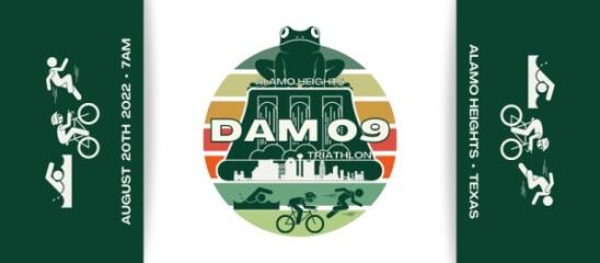 Dam 09 Triathlon registration logo