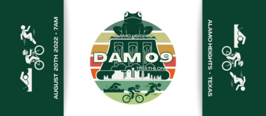Dam 09 Triathlon registration logo