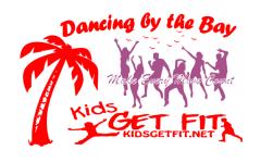 Dancing by the Bay Zumbathon registration logo