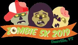 Danville, VT Zombie 5K registration logo