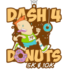 Dash 4 Donuts 5K & 10K registration logo