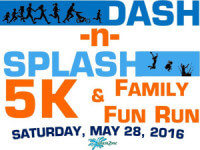 Dash and Splash 5k registration logo