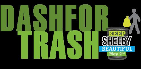 Dash for Trash registration logo