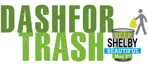 Dash for Trash registration logo