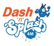 Dash - N- Splash 4 Mile Race registration logo
