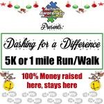 Dashing for Differences registration logo