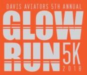 Davis Glow Run registration logo