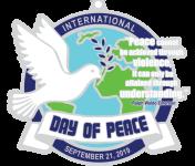 Day of Peace 1 Mile, 5K, 10K, 13.1, 26.2 registration logo