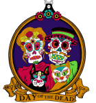 Day of the Dead 1 Mile, 5K, 10K, 13.1, 26.2 registration logo
