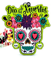Day of the Dead 1M 5K 10K 13.1 and 26.2 registration logo