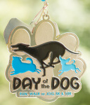 Day of the Dog - Run, Walk or Jog 5K/10K registration logo