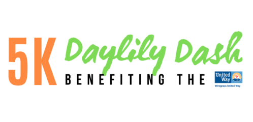 Daylily Dash 5K for United Way registration logo