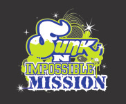 DC's Funk N Impossible Mission/Amazing Race Event registration logo
