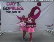 De-feet Breast Cancer Challenge Run registration logo