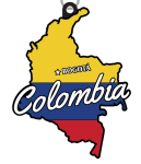 December - Race Across Colombia 5K, 10K, 13.1, 26.2 registration logo