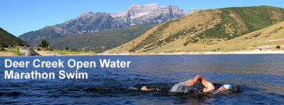 Deer Creek Open Water Marathon Swim registration logo