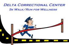 Delta Correctional Center 5K Walk/Run to Wellness registration logo
