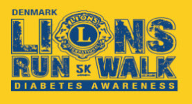 Denmark Lion's 5K Run/Walk registration logo