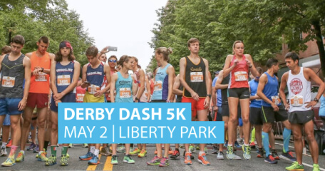 Derby Dash 5K registration logo