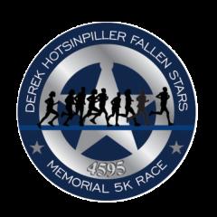 Derek Hotsinpiller Fallen Stars Memorial 5K registration logo