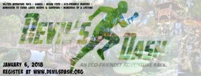 Devil's Dash 5K Eco-Friendly Adventure Race registration logo