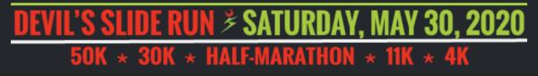 Devil's Slide Trail Run Half Marathon, 4K & 11K registration logo