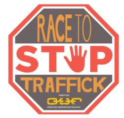 DFW Annual Race to Stop Traffick Virtual 5K registration logo