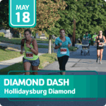Diamond Dash registration logo