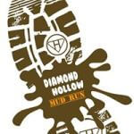 Diamond Hollow Mud Run registration logo